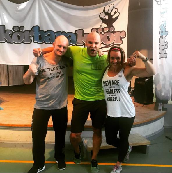 fitness training jari ketola kbk hälsocamp