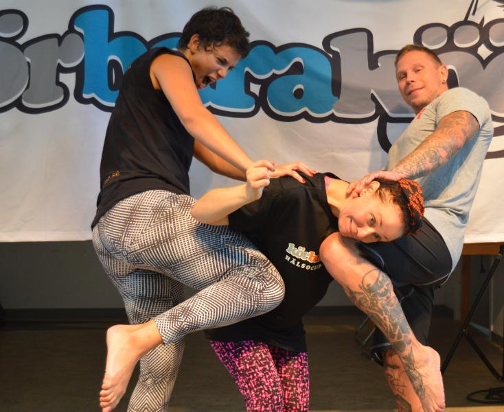 kbk hälsocamp kickboxing