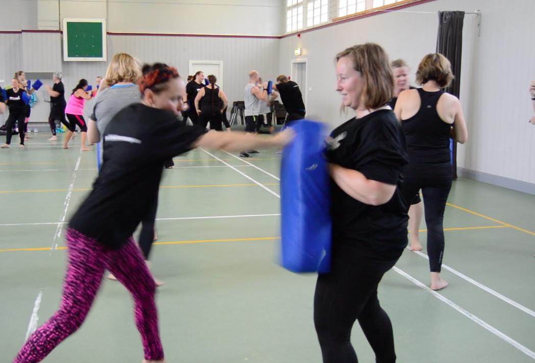 kickboxing tanja