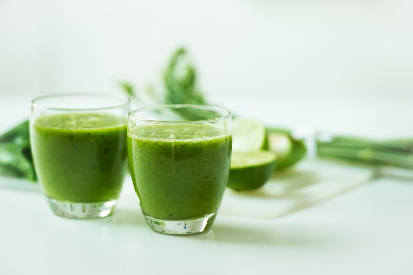 grön shot stressaav