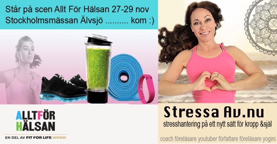 stressaav alltforhalsan yogascenen