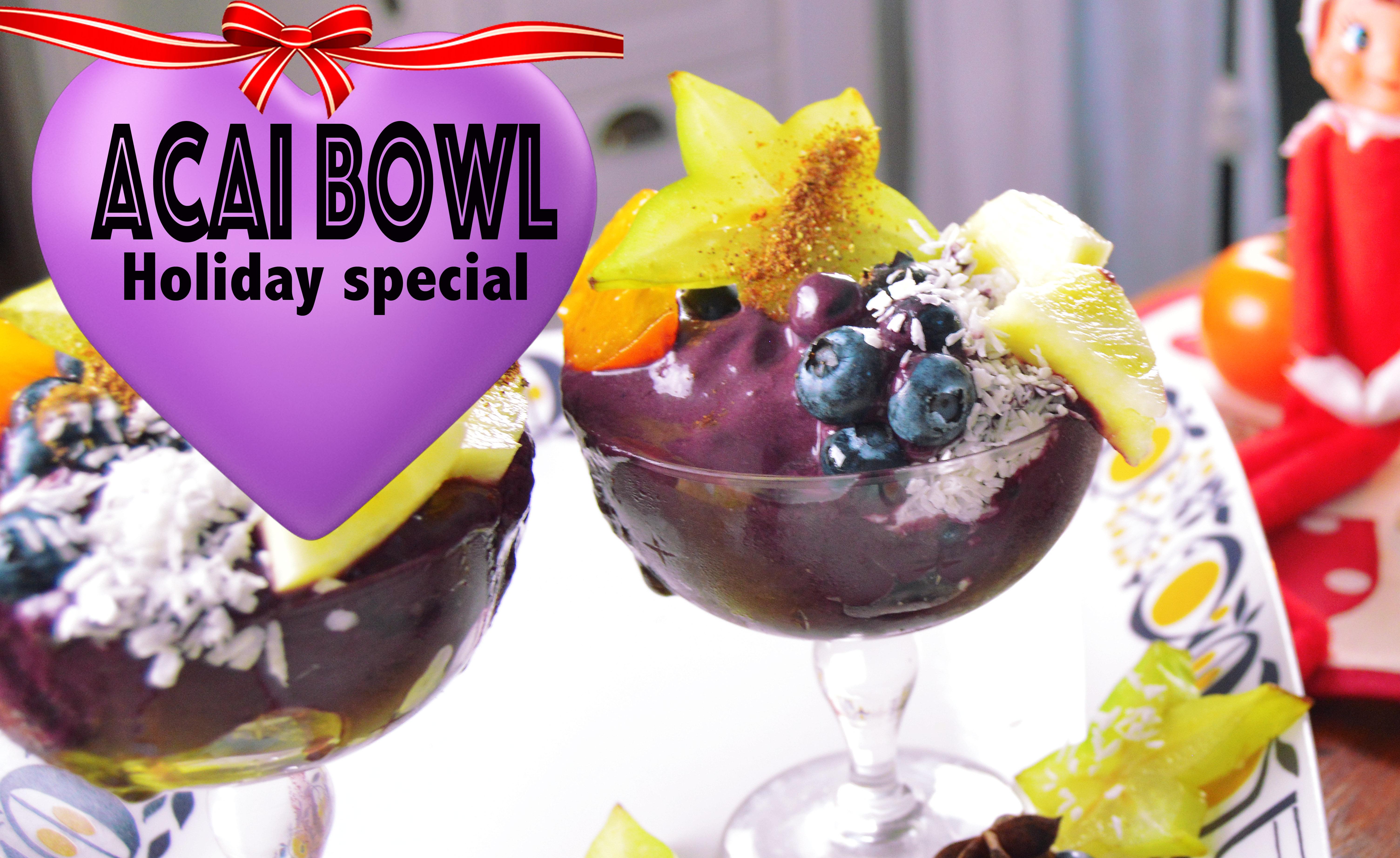 acai bowl special