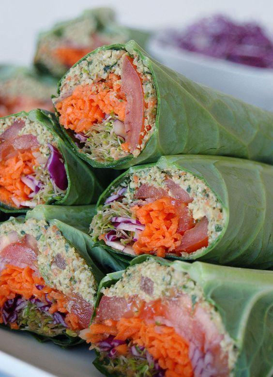 raw vegan ekologisk wrap