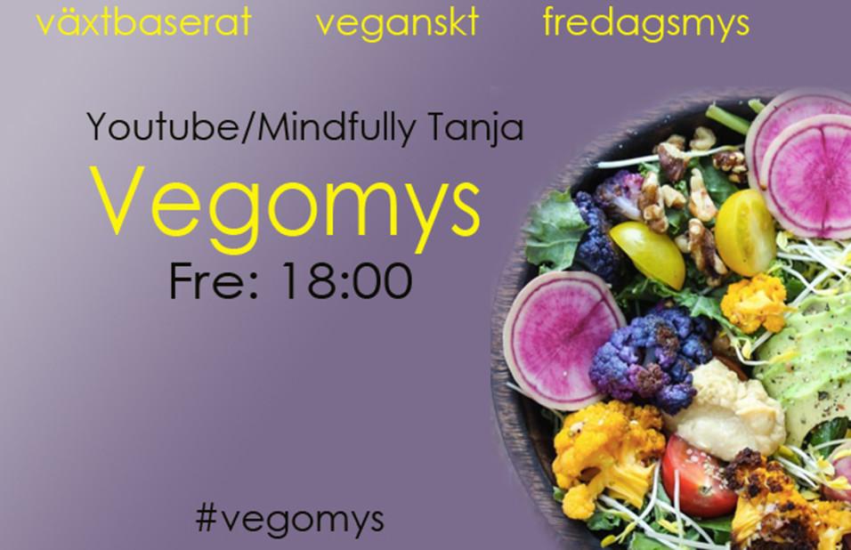 vegomys tanja dyredand mindfullytanja youtuber vegan