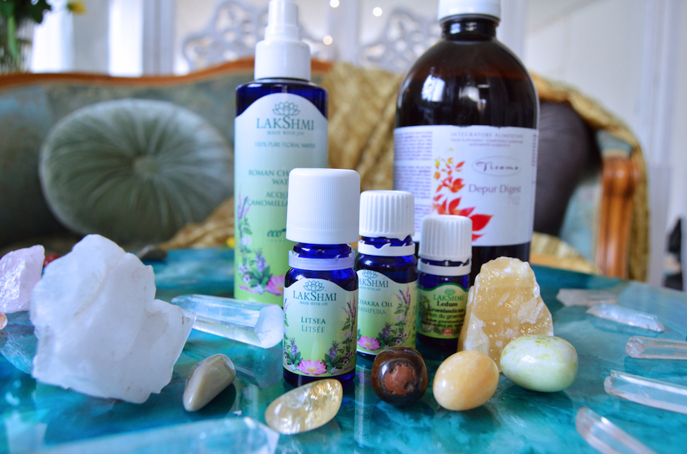 Chakra, detox, leverrening, aromaterapi