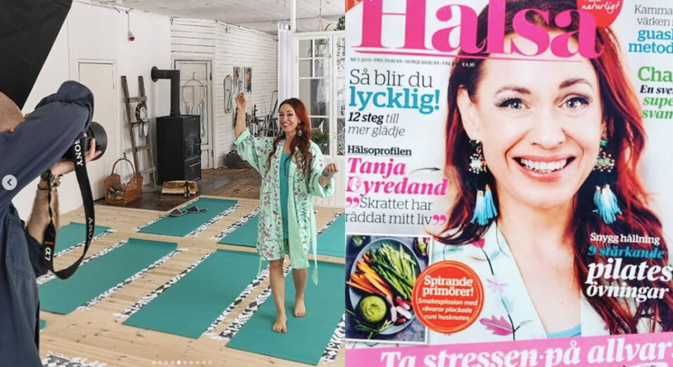 tanja-dyredand-yoga-skrattapausa-skrattyoga-edsbro-tidningen-halsa-bok-forfattare-2019