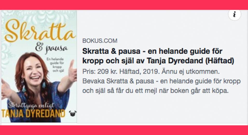 tanja-dyredand-skrattapausa-bokus-skrattyoga-forfattare-pugforlag-2019